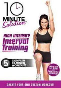 10 minute HIIT training