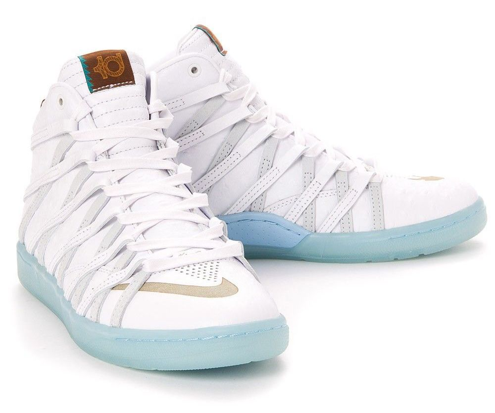 nike kd 7 all white