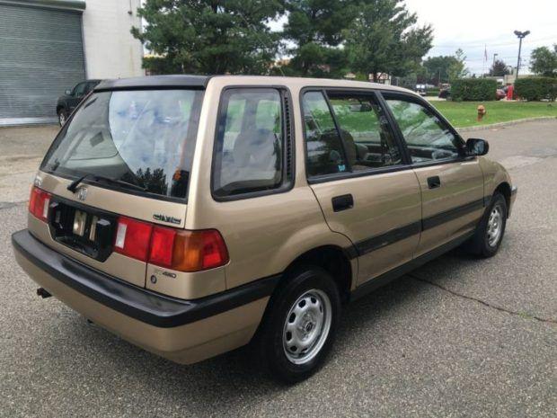 1988 honda civic 4wd wagon