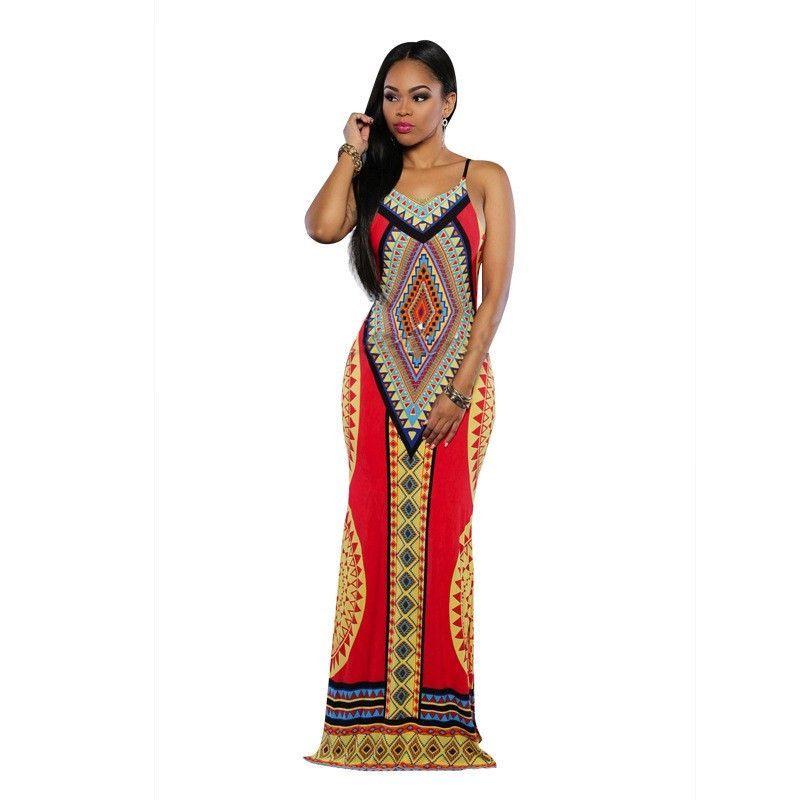 cf66ea01e7c LONG MAXI AFRICAN DASHIKI DRESS