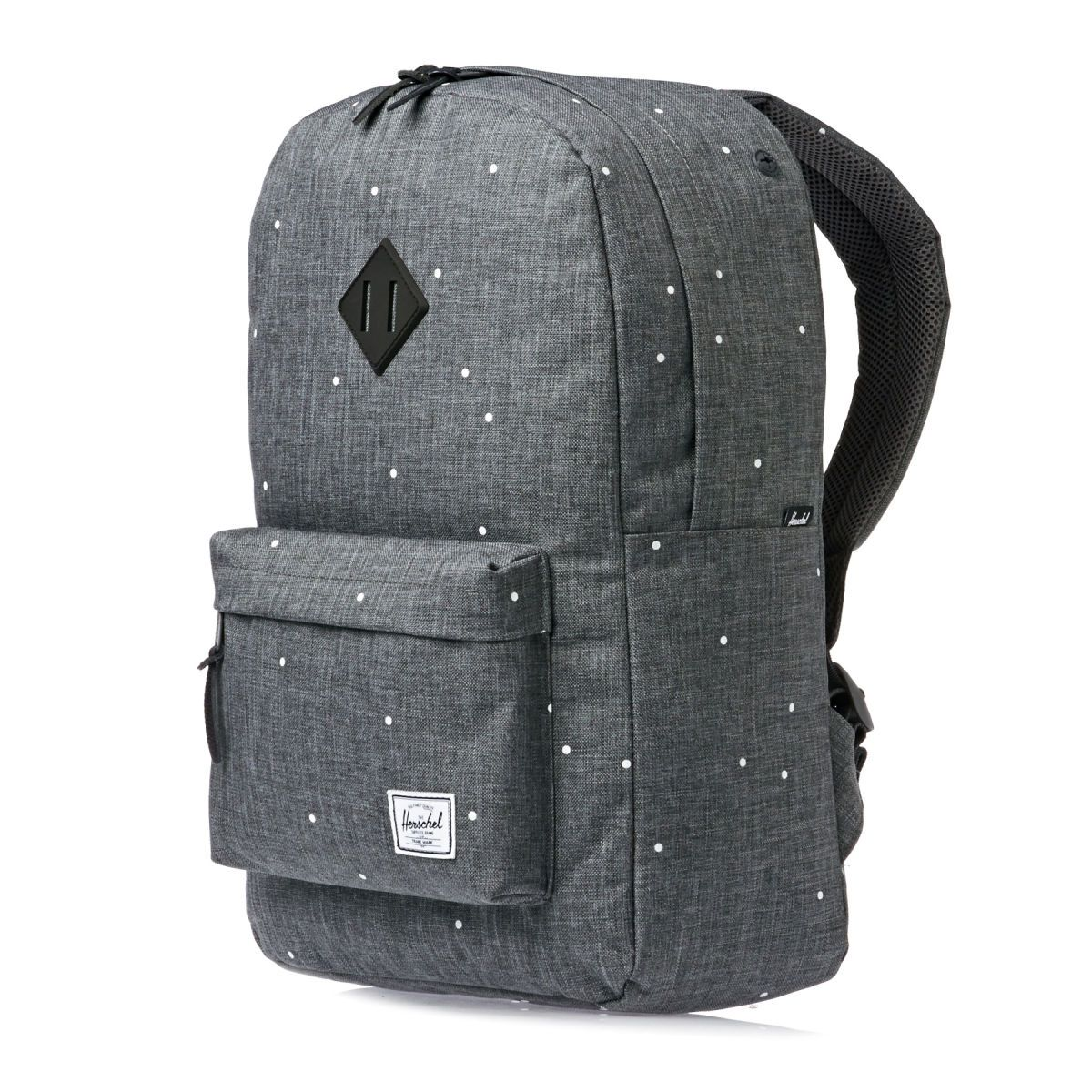Herschel Heritage Backpack - Scattered Charcoal rubber   Because I ... 261cdad601