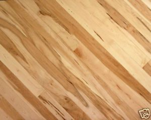 Flooring Rustic Maple Hardwood 3 4 X 2 1 Solid Wood