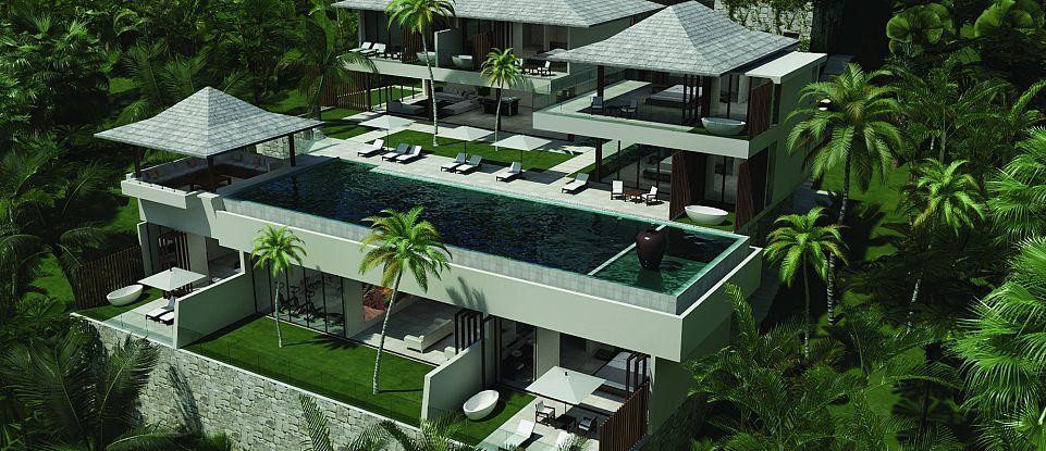 Chingari Villas, Phuket Architect house, Property real