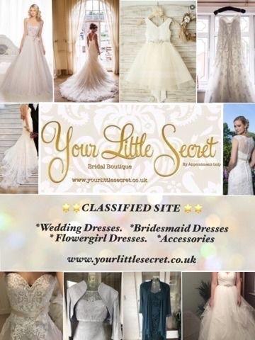 Your Little Secret Bridal Boutique   SELL MY WEDDING DRESS<3 ...