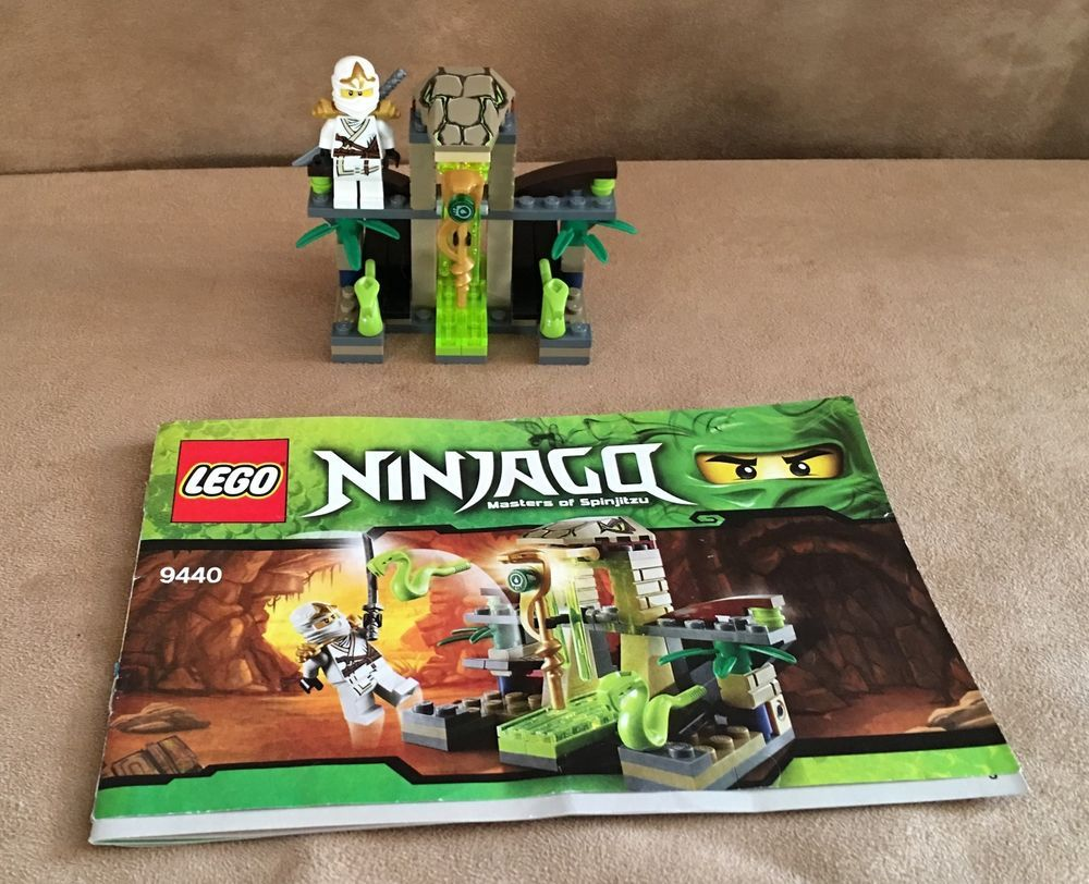 9440 Lego Ninjago Complete Venomari Shrine Minifigures Instructions