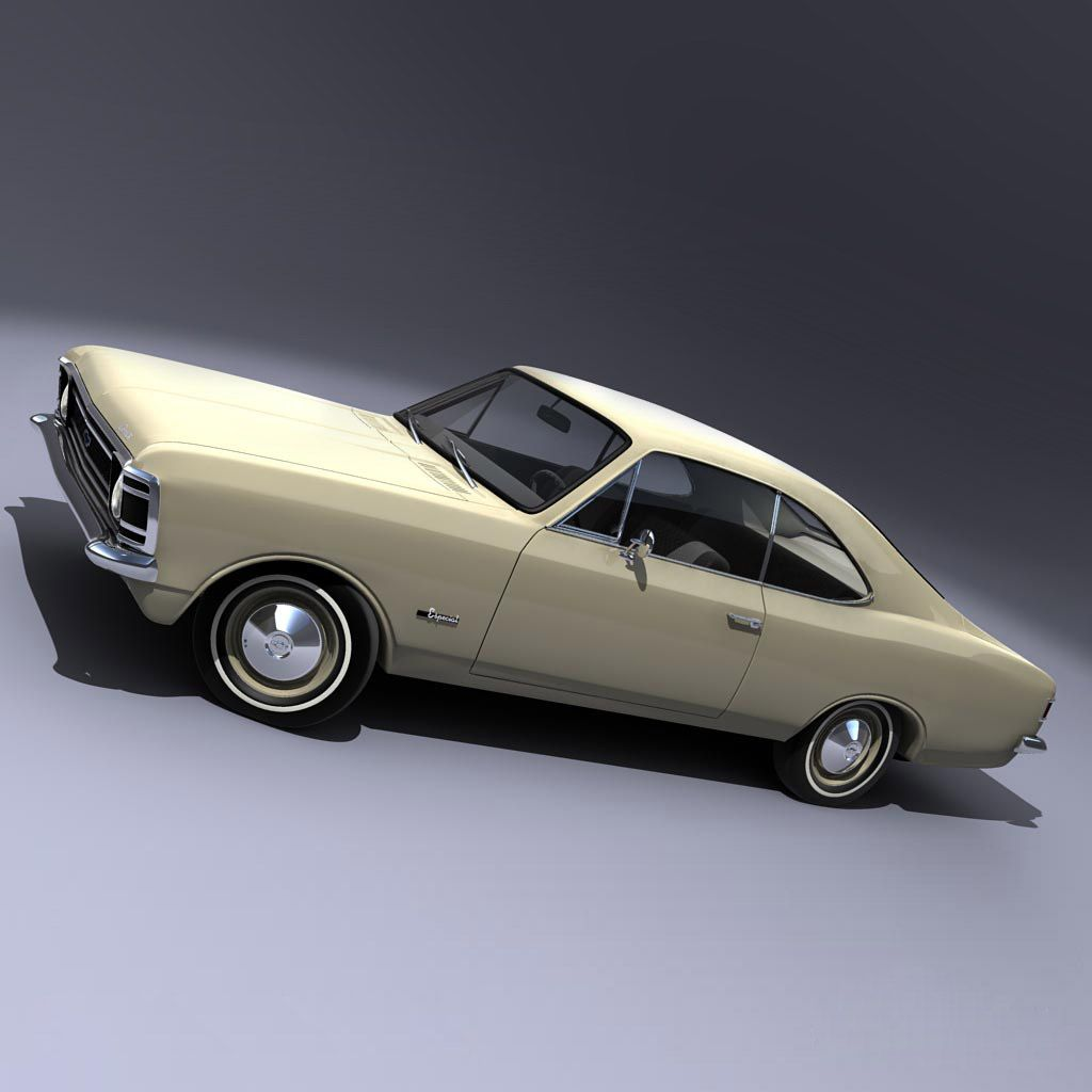 Chevrolet Opala Coupe 1972 A Mid Size Car Sold By Gm