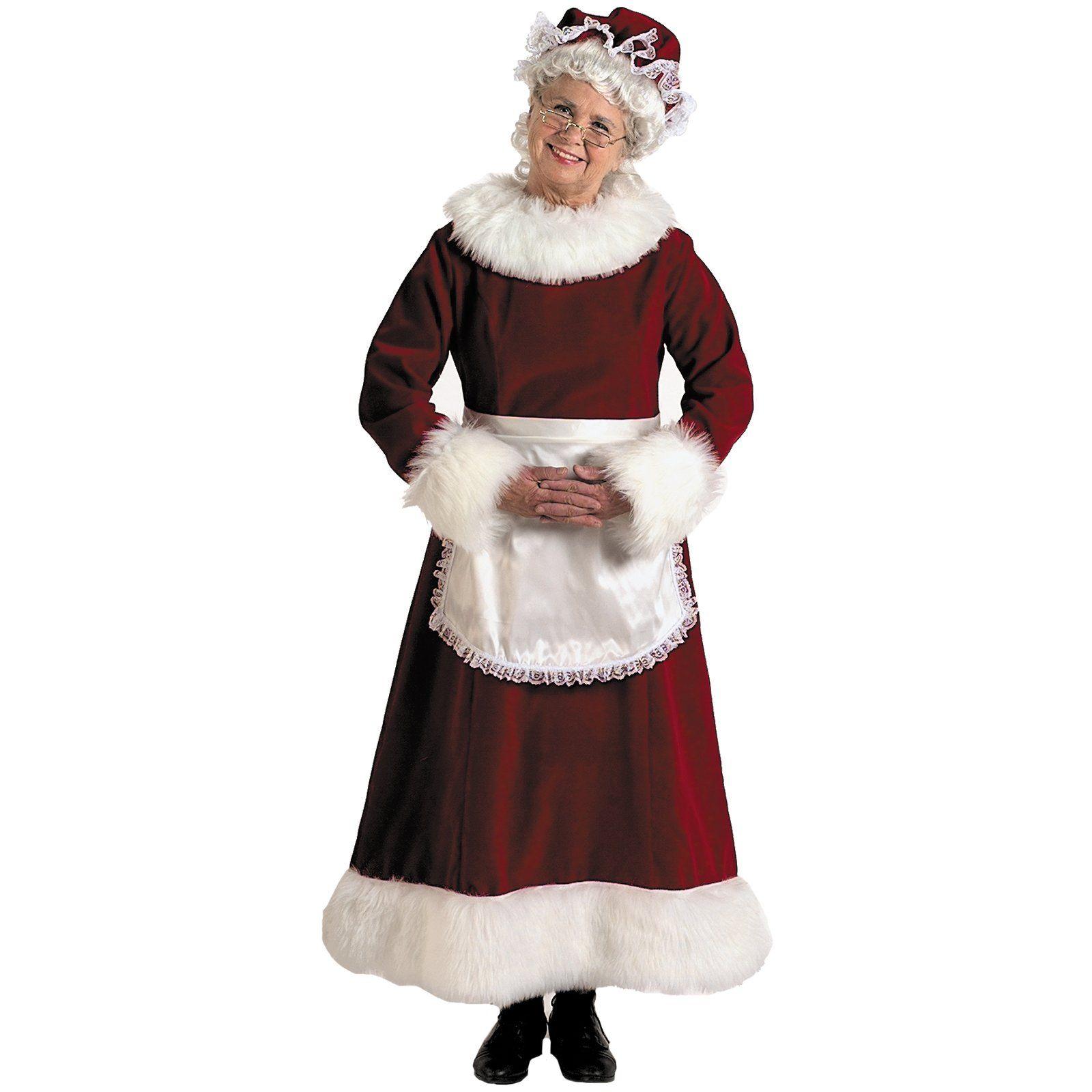 Mrs. Santa Costumes Sewing Patterns  b3232f09d