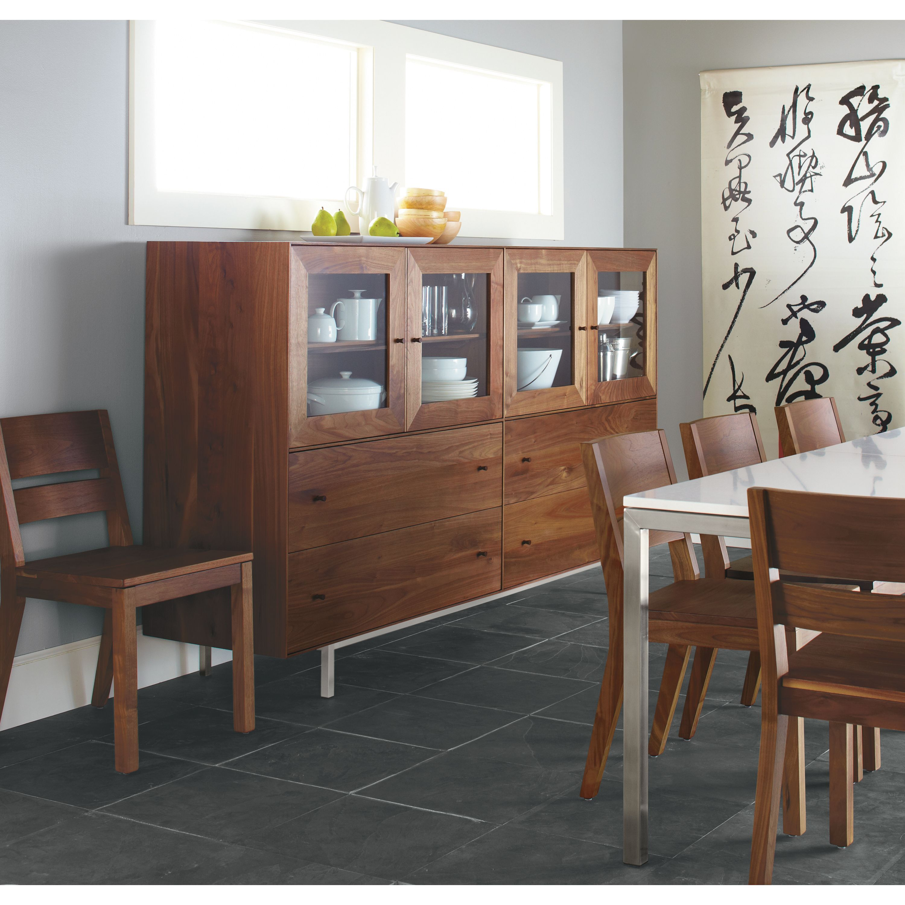 Room Board Hudson Storage Cabinets With Steel Base In
