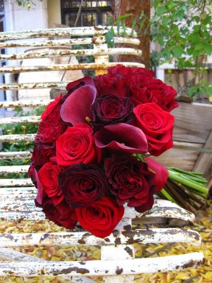 red bouquets with curly willow - Google Search