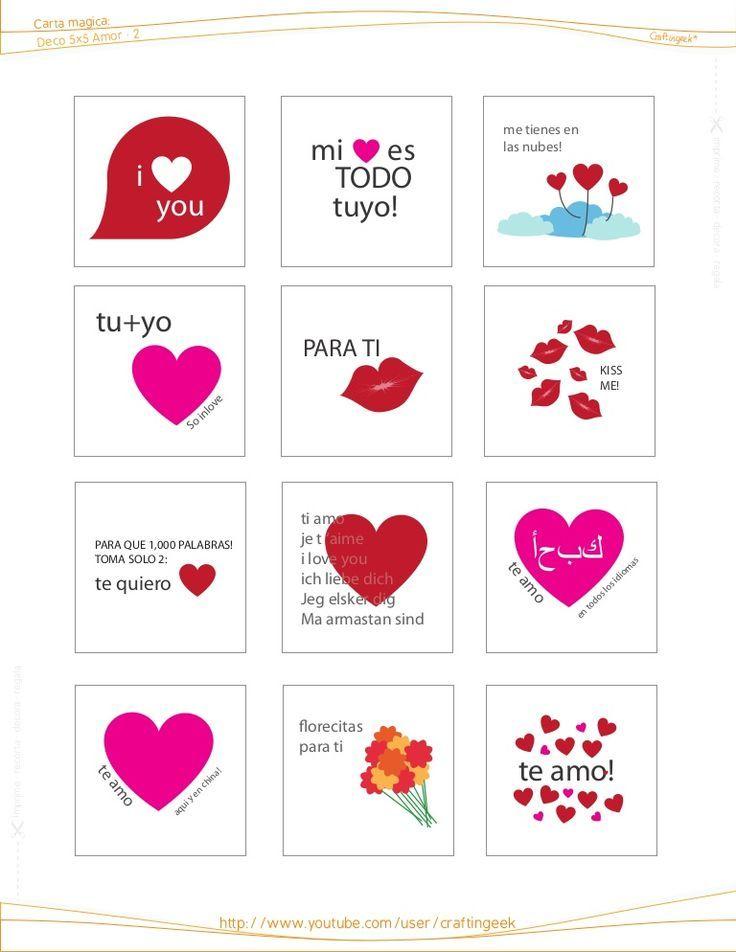 7d56218679f3863f676e181e2e8ad84d Papel Craft Walentynki Jpg 736 952 Imprimibles De Amor Tarjetas Imprimibles Valentin Imprimible