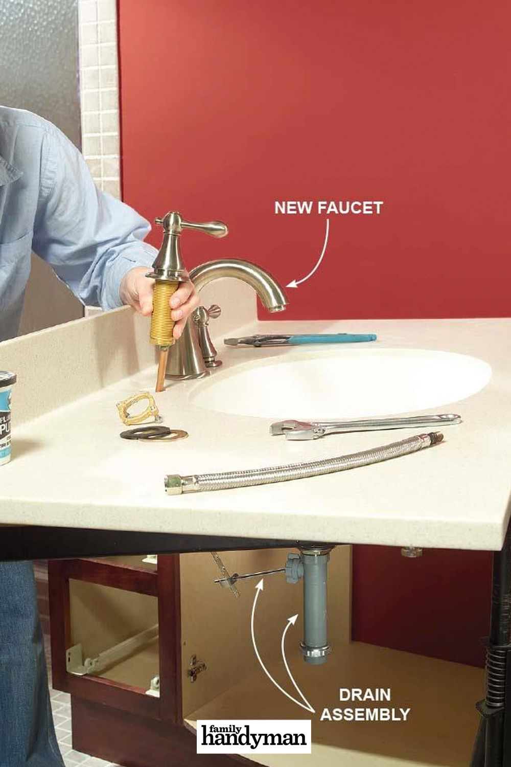 10 Tips For Installing A Faucet The Easy Way Faucet Faucet