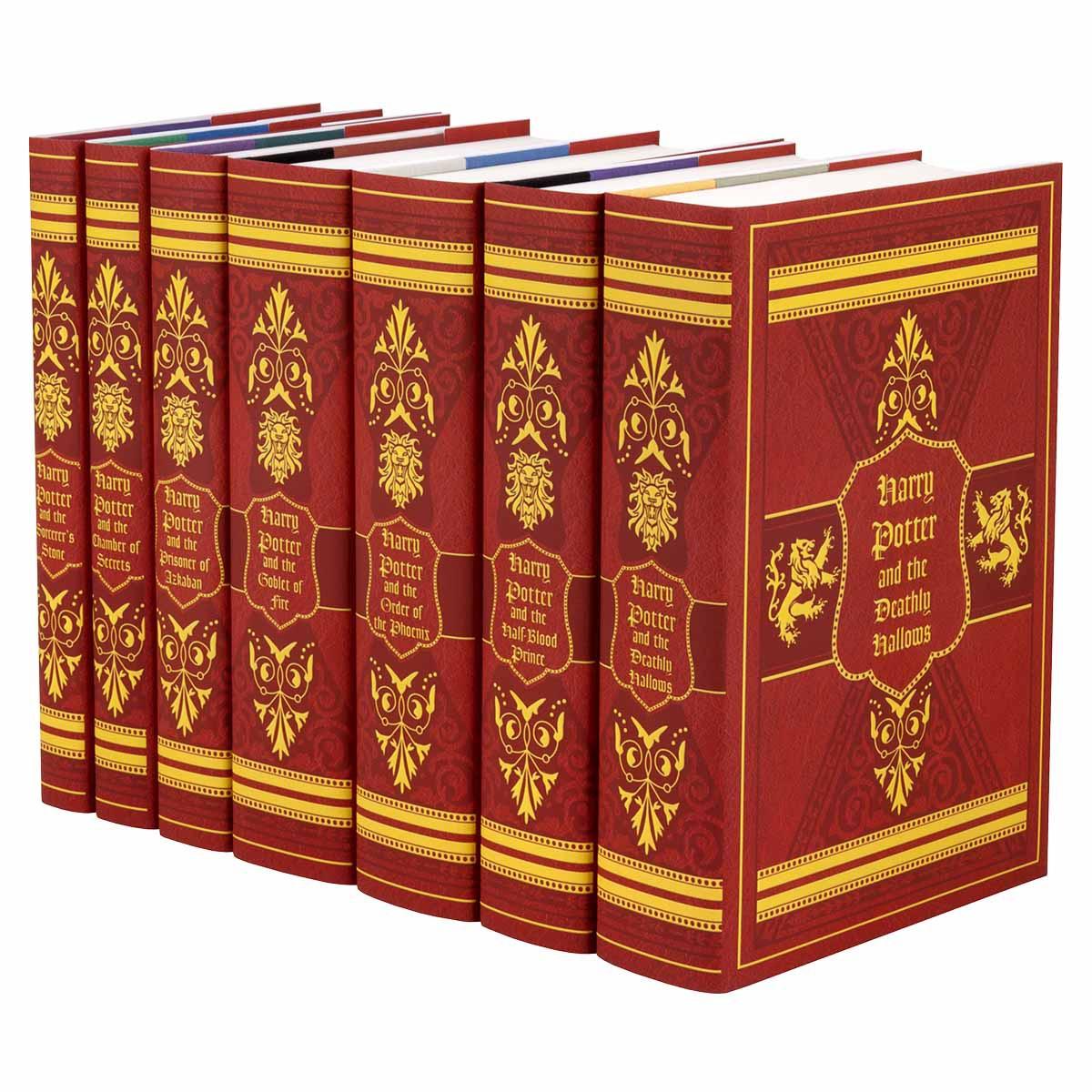 Juniper Books Harry Potter Gryffindor Set Red Harry Potter Book Set Harry Potter Hardcover Harry Potter Set