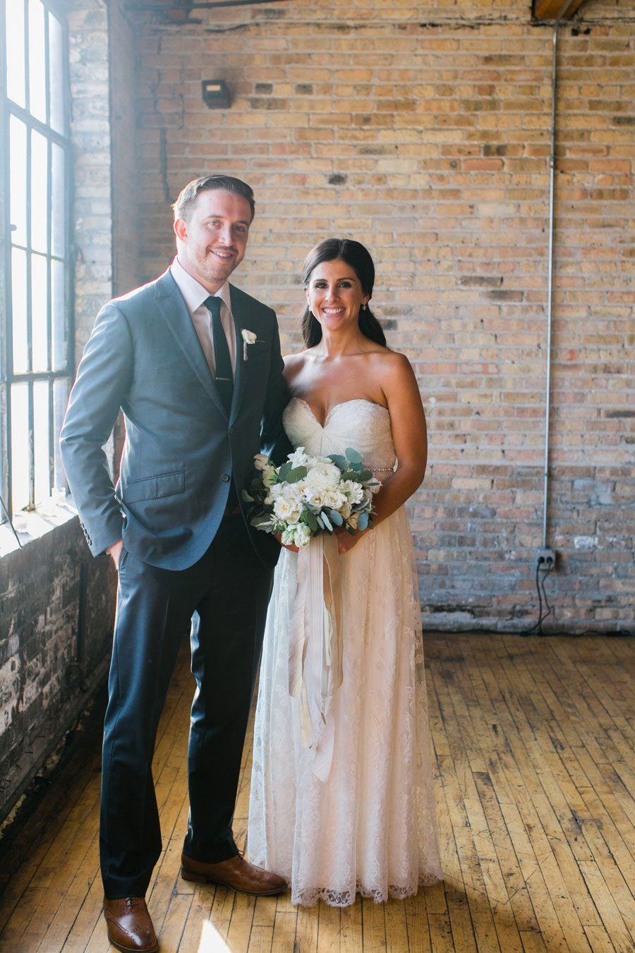 Salvage One wedding, Chicago