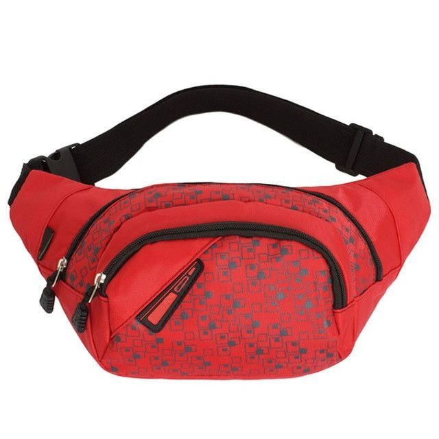 High Quality Waist Pack For Men Women Casual Functional Fanny Pack Bum Chest Bag Hip Money Belt Travelling Mobile Phone Bag