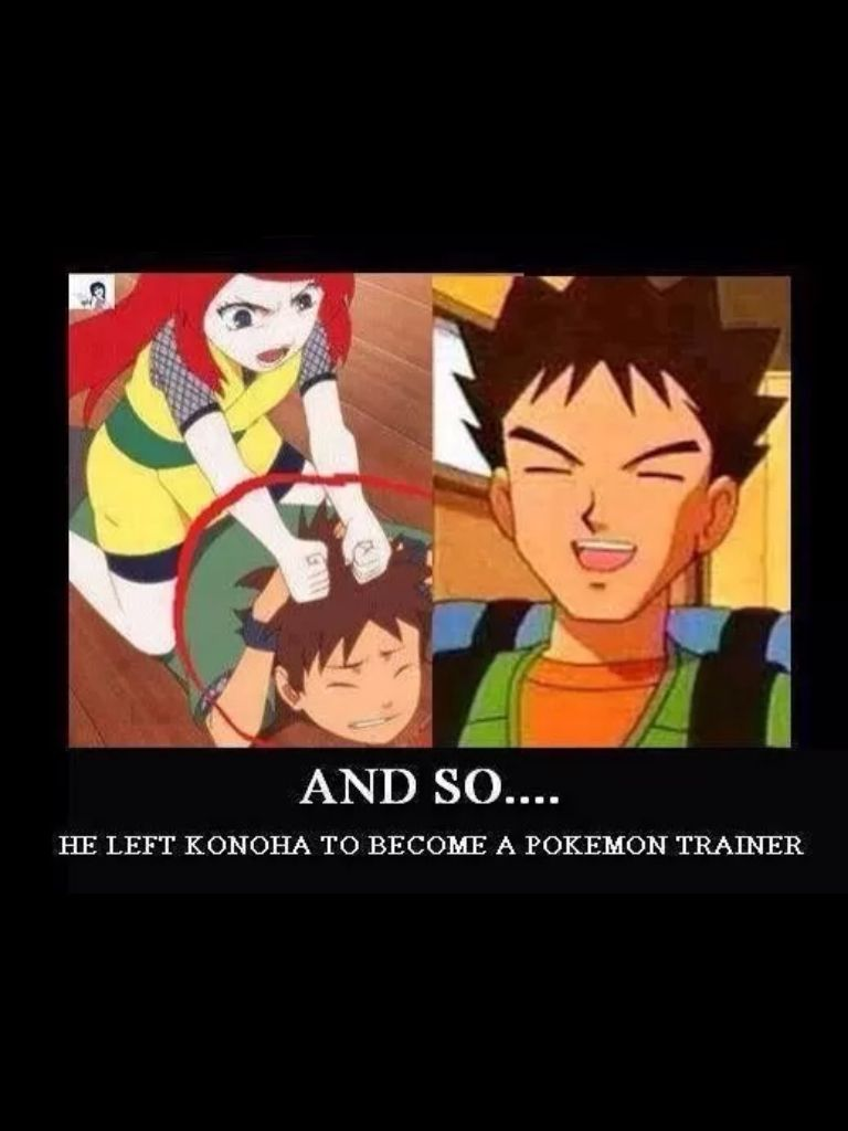 hehhe oh pokemon and naruto you never get old pokemon
