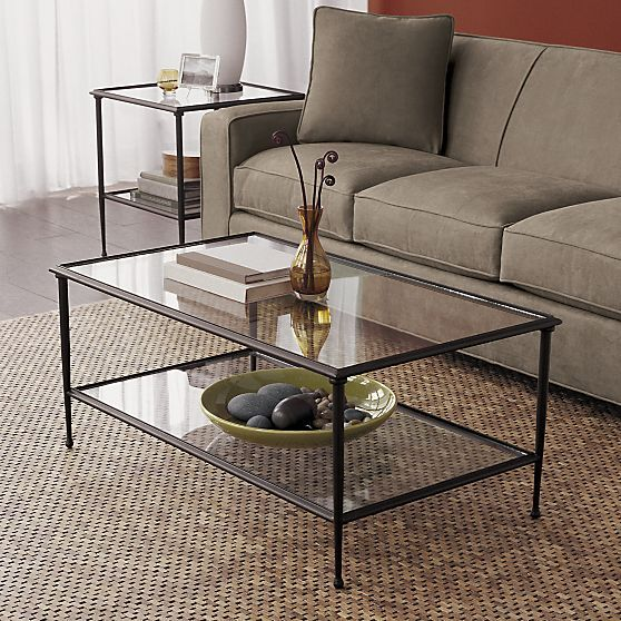 Good Pia Coffee Table In Side, Coffee Tables | Crate And Barrel