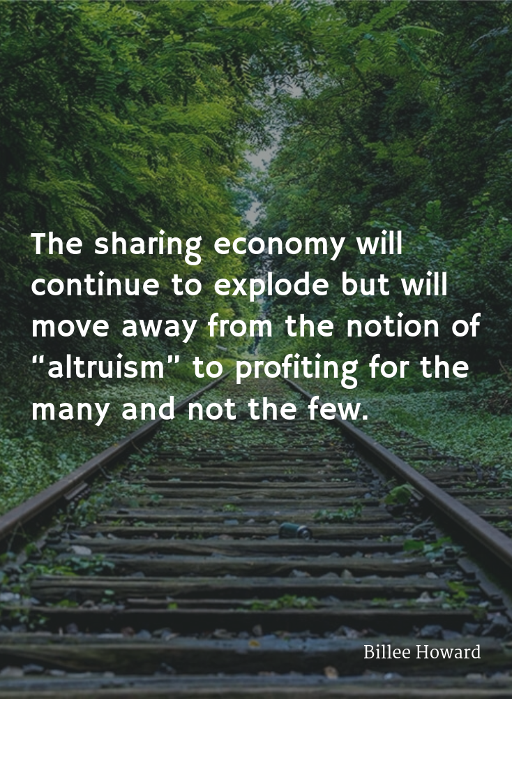 The Future of Sharing Economy in 2016 Sharing economy