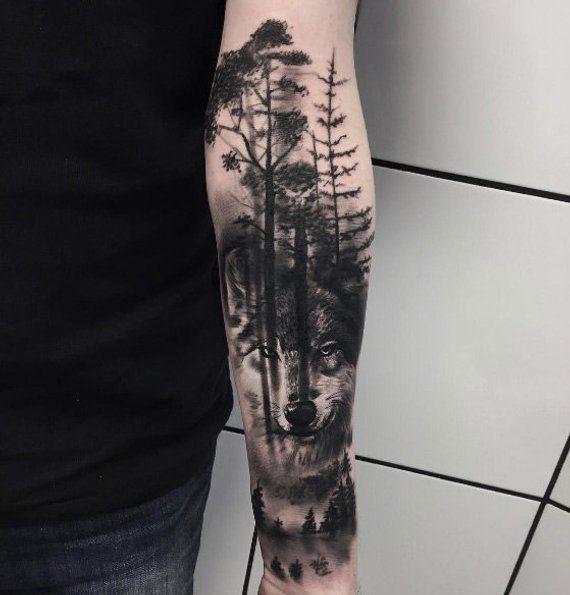 Custom Flower Tattoo - add text to fake tatoo