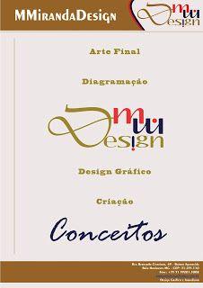 MMirandaDesign: Arte final, diagramação, design gráfico e criação ...