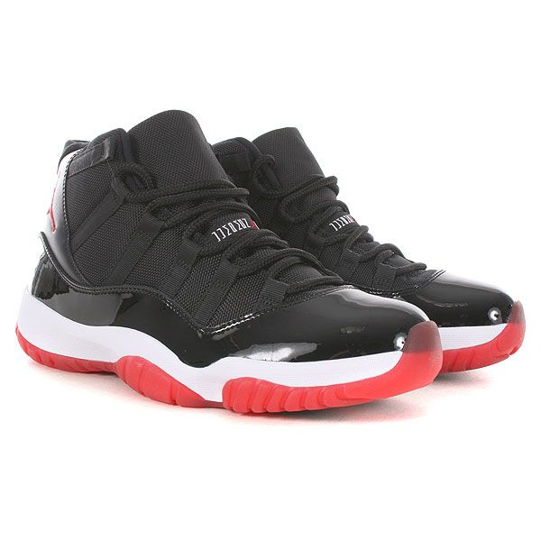 bffd7c2ce2d3 Nike Air Jordan Retro 11 - Black-Varsity Red-White Bred Xi