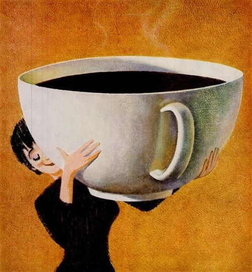 An Enormous Cup Of Black Tea Now That S The Size I Need In The