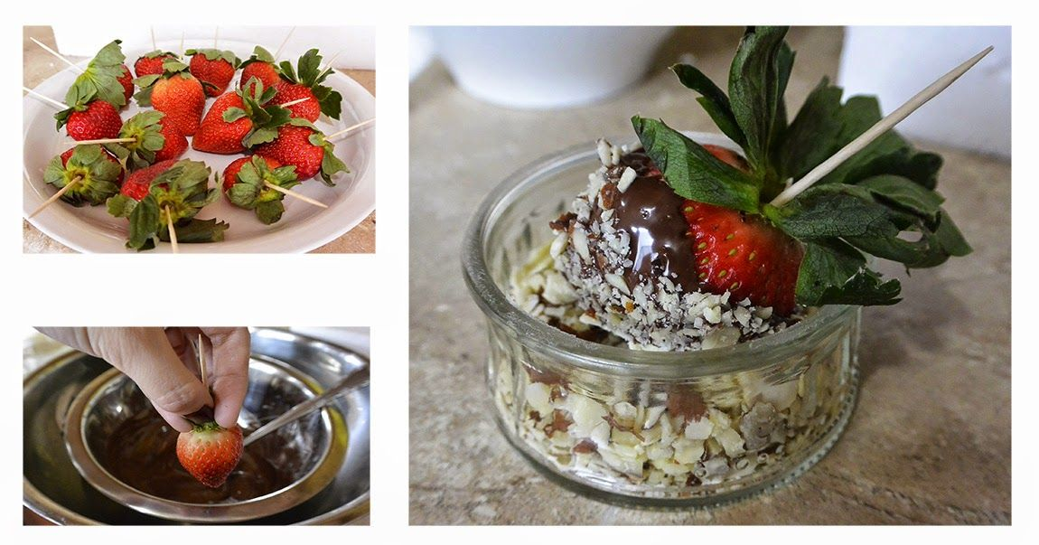 HOLIDAY DESSERT: CHOCOLATE COVERED STRAWBERRY Merry Christmas everyone! I would like to share with you a beautifully festive and delicious dessert for the Christmas. This desert is not difficult and time-consuming to make at all and can be a wonderful gift for holiday, birthday, and Valentine Day. -Chúc mừng Giáng Sinh tất cả mọi người. Hôm nay, mình sẽ chia sẻ một món tráng miệng Socola bọc dâu tây là một món tráng miệng cực dễ làm, tuyệt vời và ý nghĩa