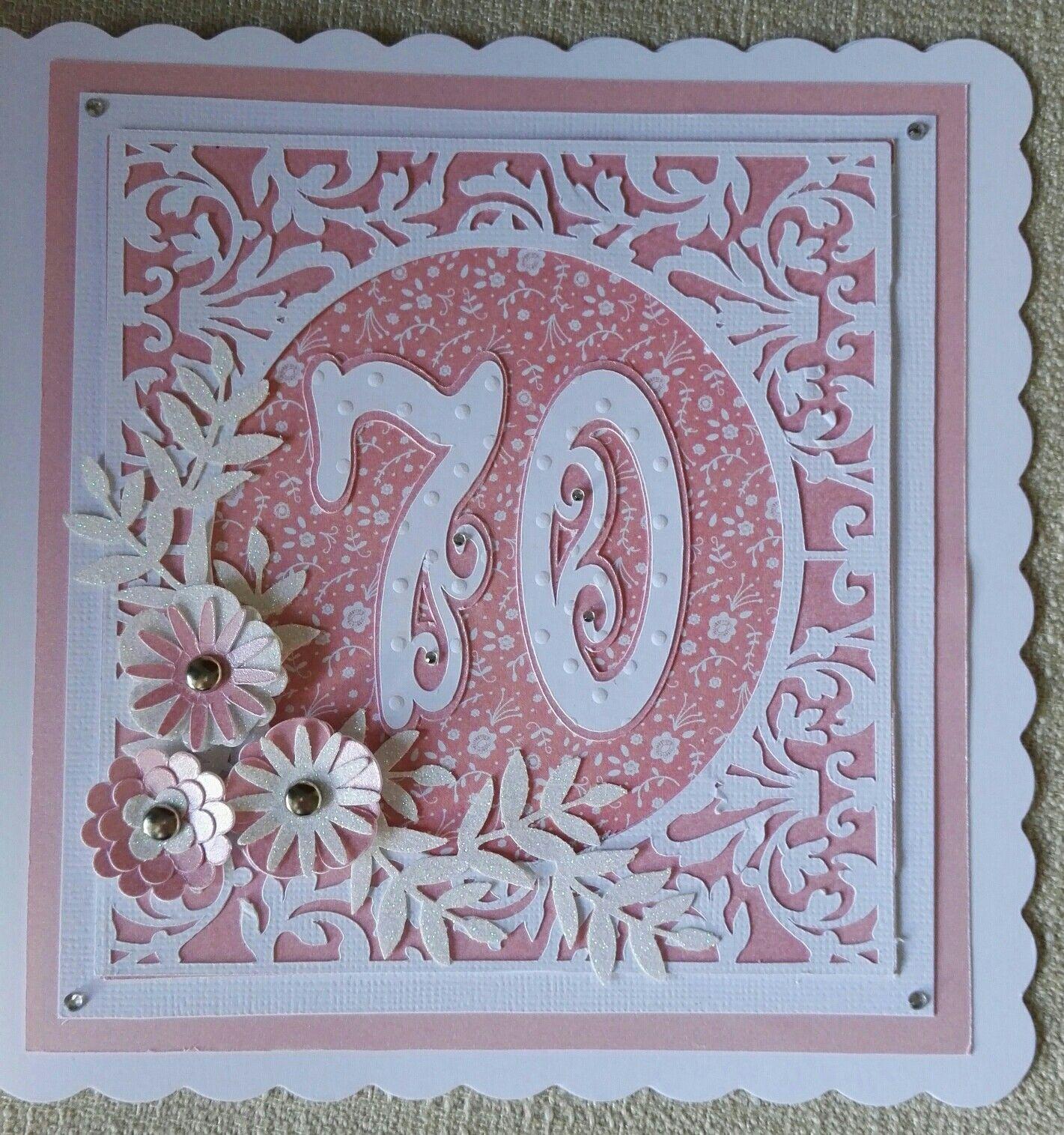 70th Birthday card 70TH BIRTHDAY Pinterest 70th