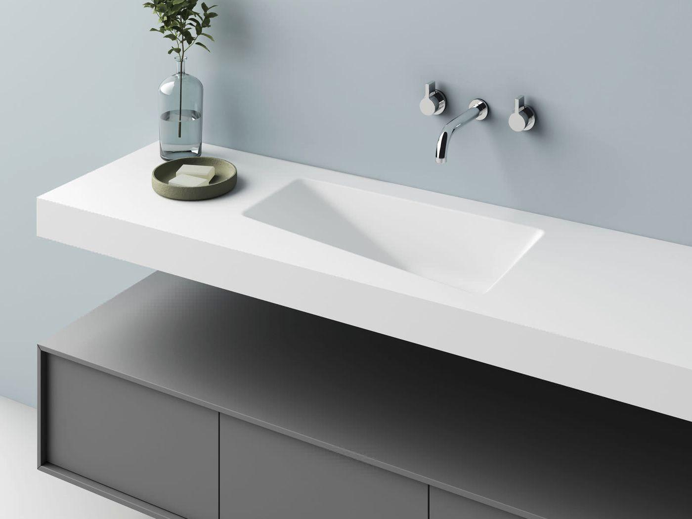 Plan Vasque Sur Mesure Frais Plan Vasque Poser Best Vasque Carre Poser Bali Porcelaine Hautcm Idee De La Maison Plan Vasque Vasque Design Buanderie