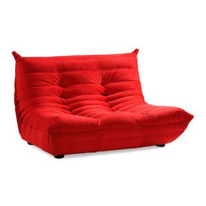 Modern Loft Red Leather Sofa Range At Furniture Choice From