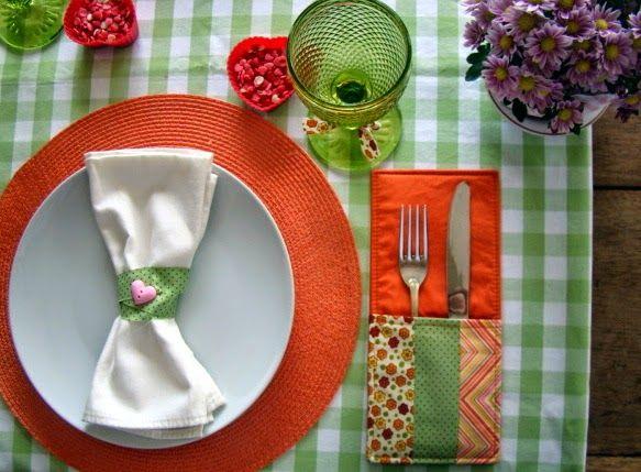 Uma mesa bem posta faz bem ao coração!!!!