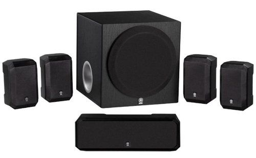 Introducing Yamaha 51channel Advanced Active Servo Technology Complete 6 Piece Home Theater Spe