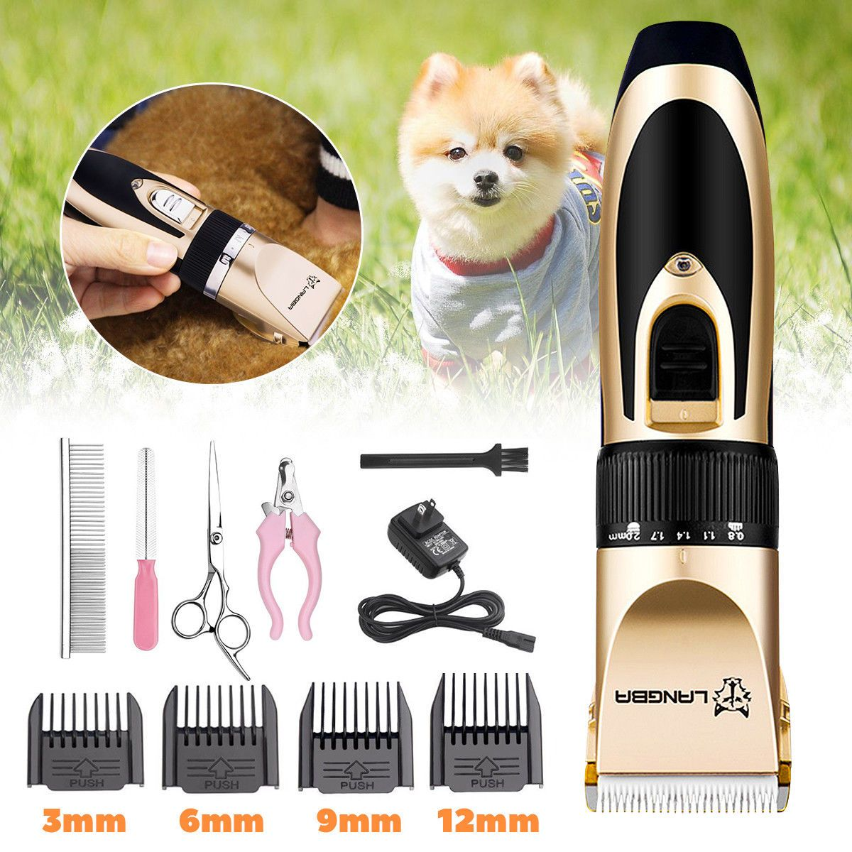 Langba Pet Grooming Clippers Ebay Home Garden Grooming Kit Dog Clippers Grooming