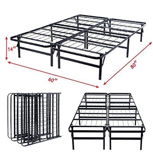 Hth Store Height Base Platform Metal Bed Frame Mattress