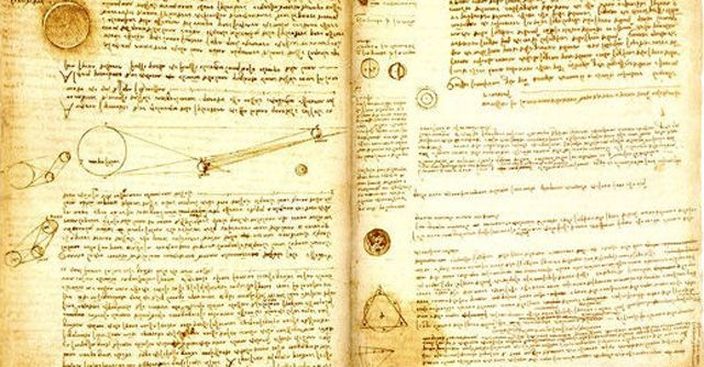 The Codex Leicester Da Vinci wasnu0027t only an artist, but also a - bill gates resume