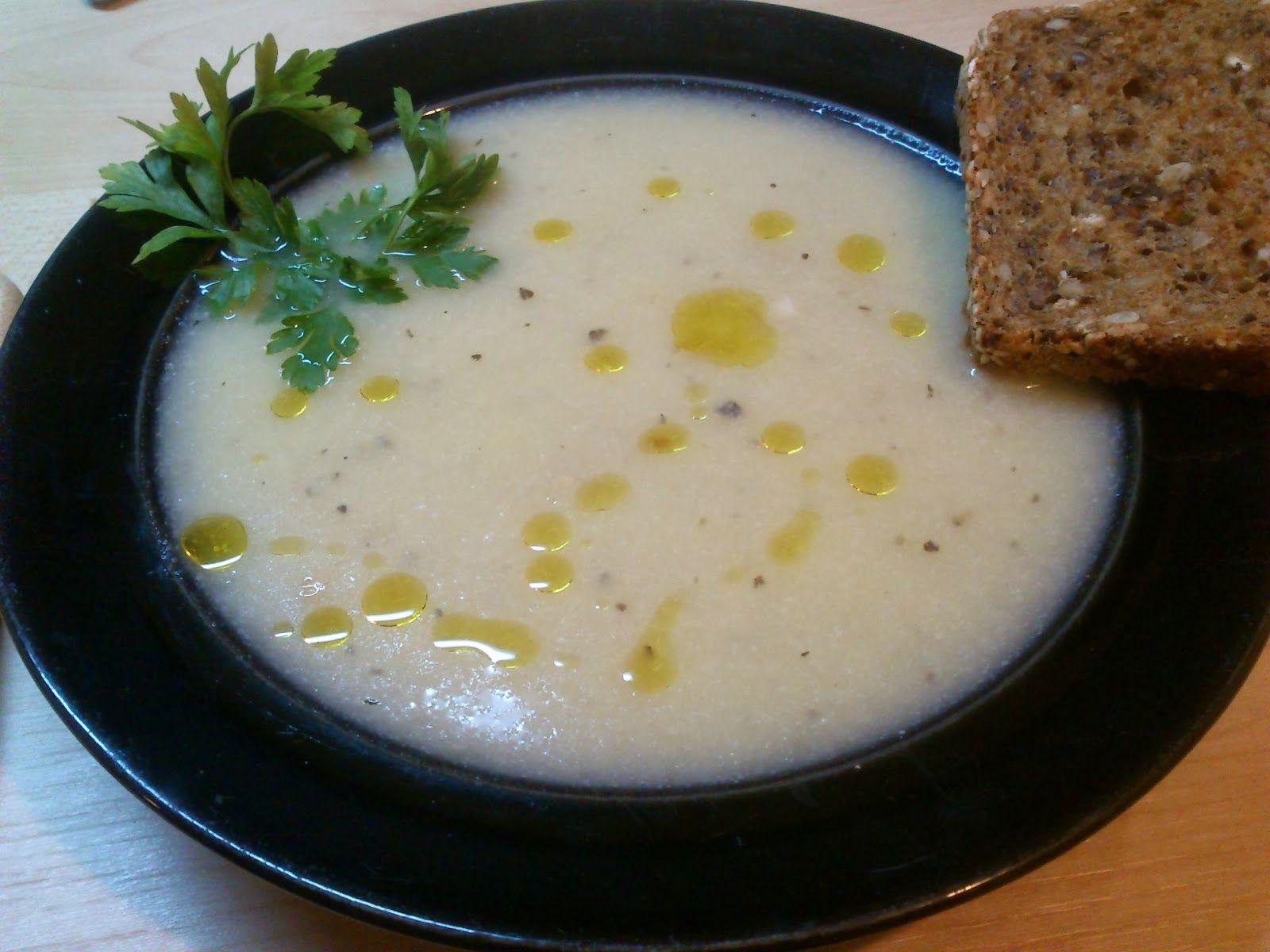 Między ustami a ciosem patelnią: Zupa krem z kalafiora