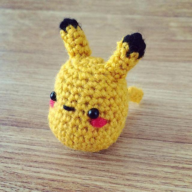 Amigurumi - Pikachu for CrochetGO! PokemonGo! | Tejiendo | Pinterest