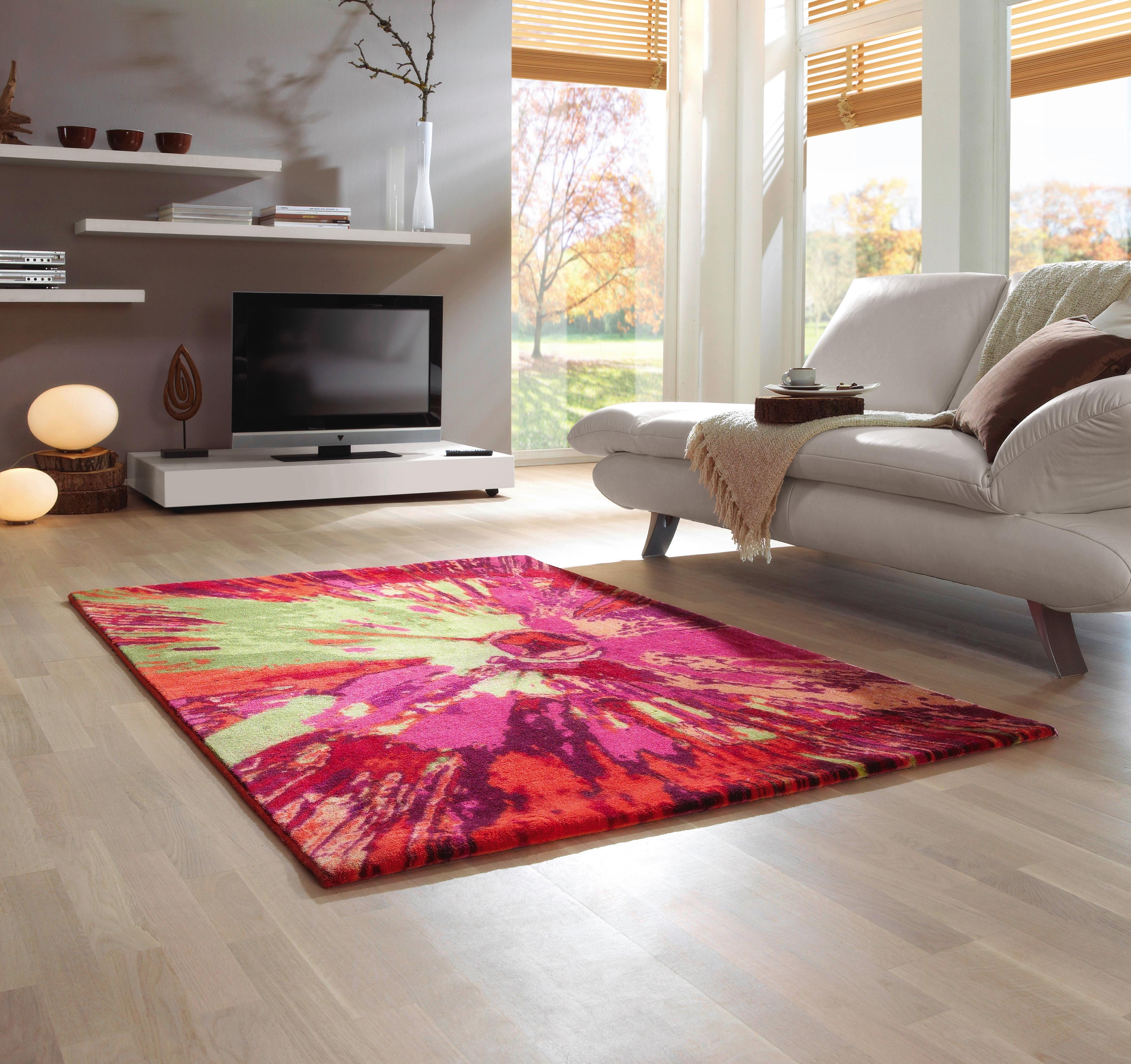 Bringen Sie Farbe Und Fröhlichkeit Auf Ihren Fußboden! Dieser Ausgefallene  Teppich Setzt Ein Kreatives Statement