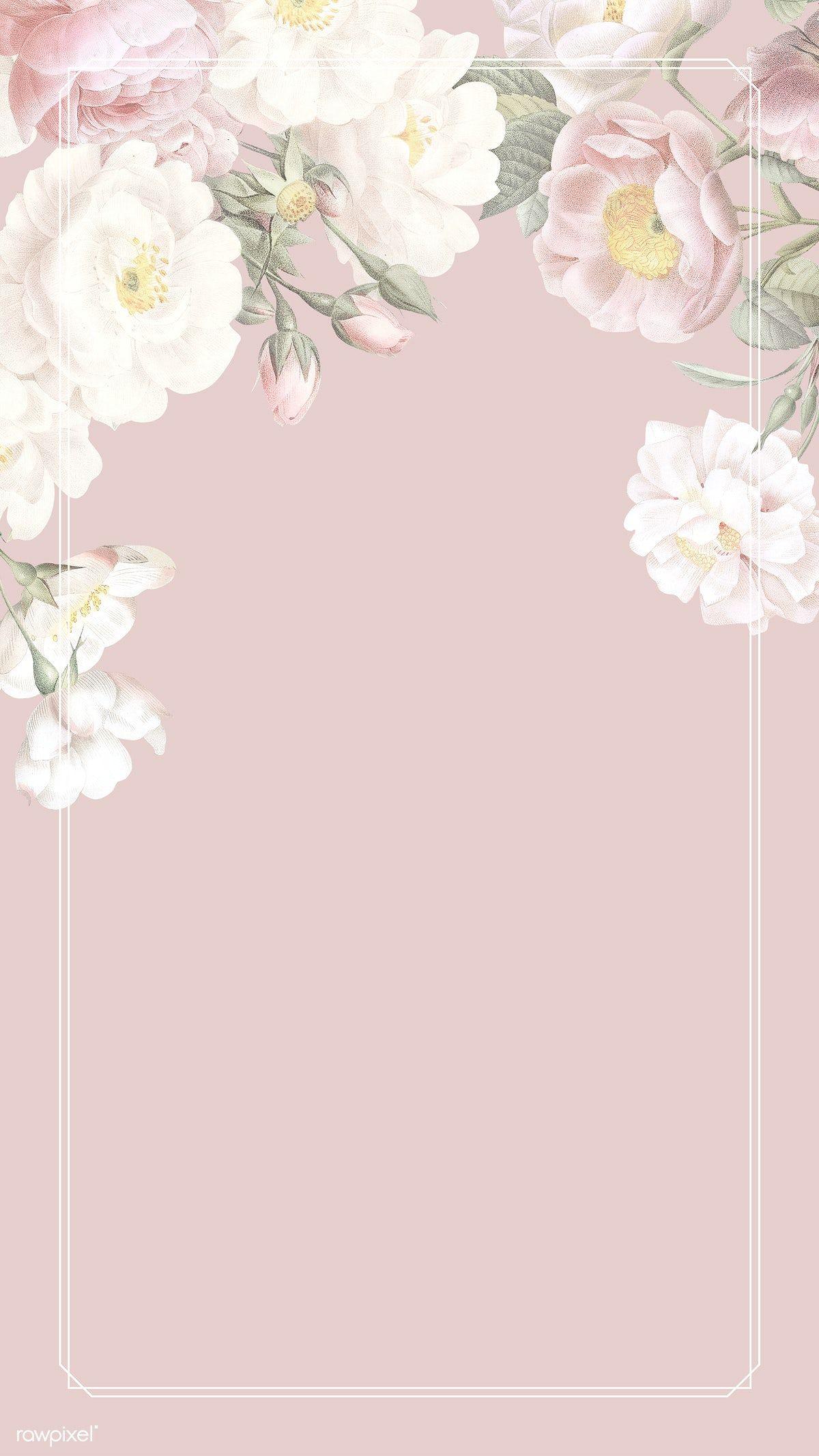 Download premium psd / image of Elegant floral frame design illustration by Tang about Wedding frame, flower frame, invitation, mockup, and card 842431