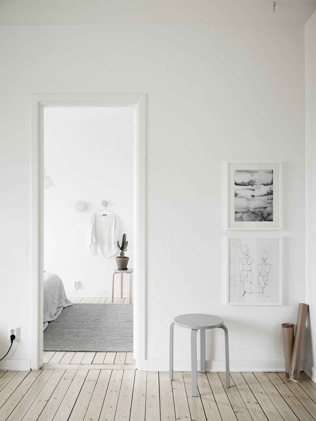 Via Coco Lapine Design | Grey and White Scandinavian Home