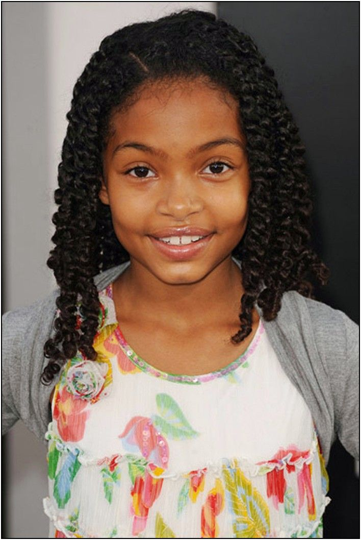 hairstyles for black little girls with curly hair kids