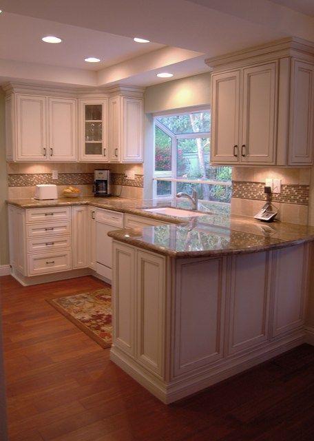 ideas for the kitchen reno - backsplash and countertops Kitchen