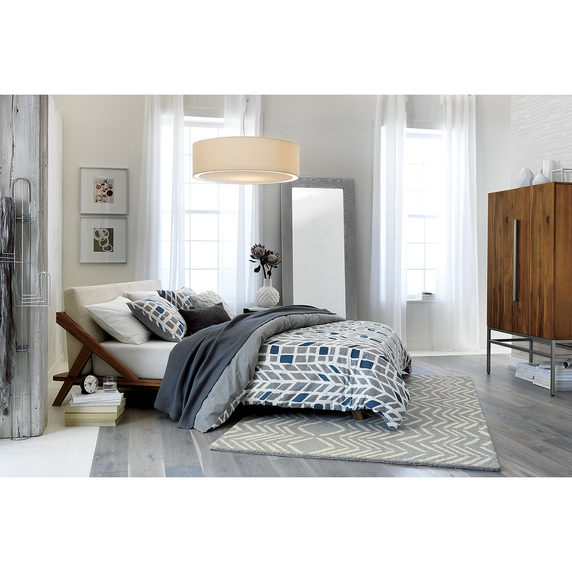 hash looped rug | CB2 | House/Furniture | Pinterest