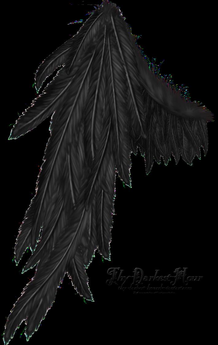 Draped Wing Black By Thy Darkest Hour On Deviantart Wings Drawing Wings Tattoo Wings Art