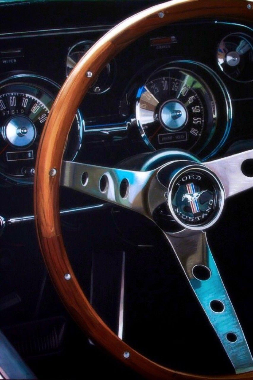 Pin By Pavle Matic On Cardesign Mustang Interior Super Luxury Cars Retro Cars