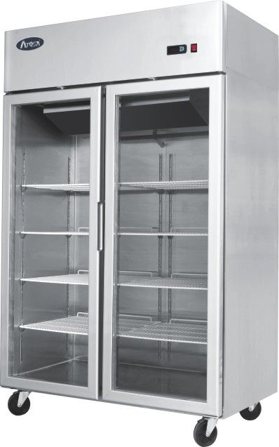 Atosa Ycf 9402 Double Glass Door Fridge Commercial Refrigeration