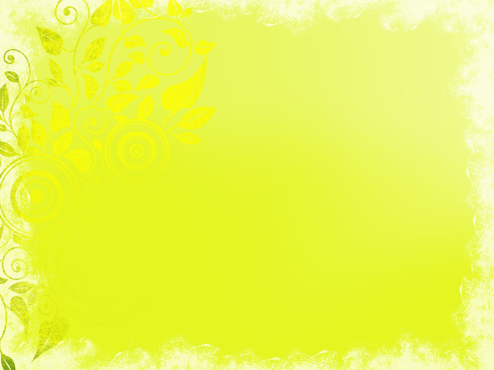 Nice Background Of Yellow Ornament Ppt Background For