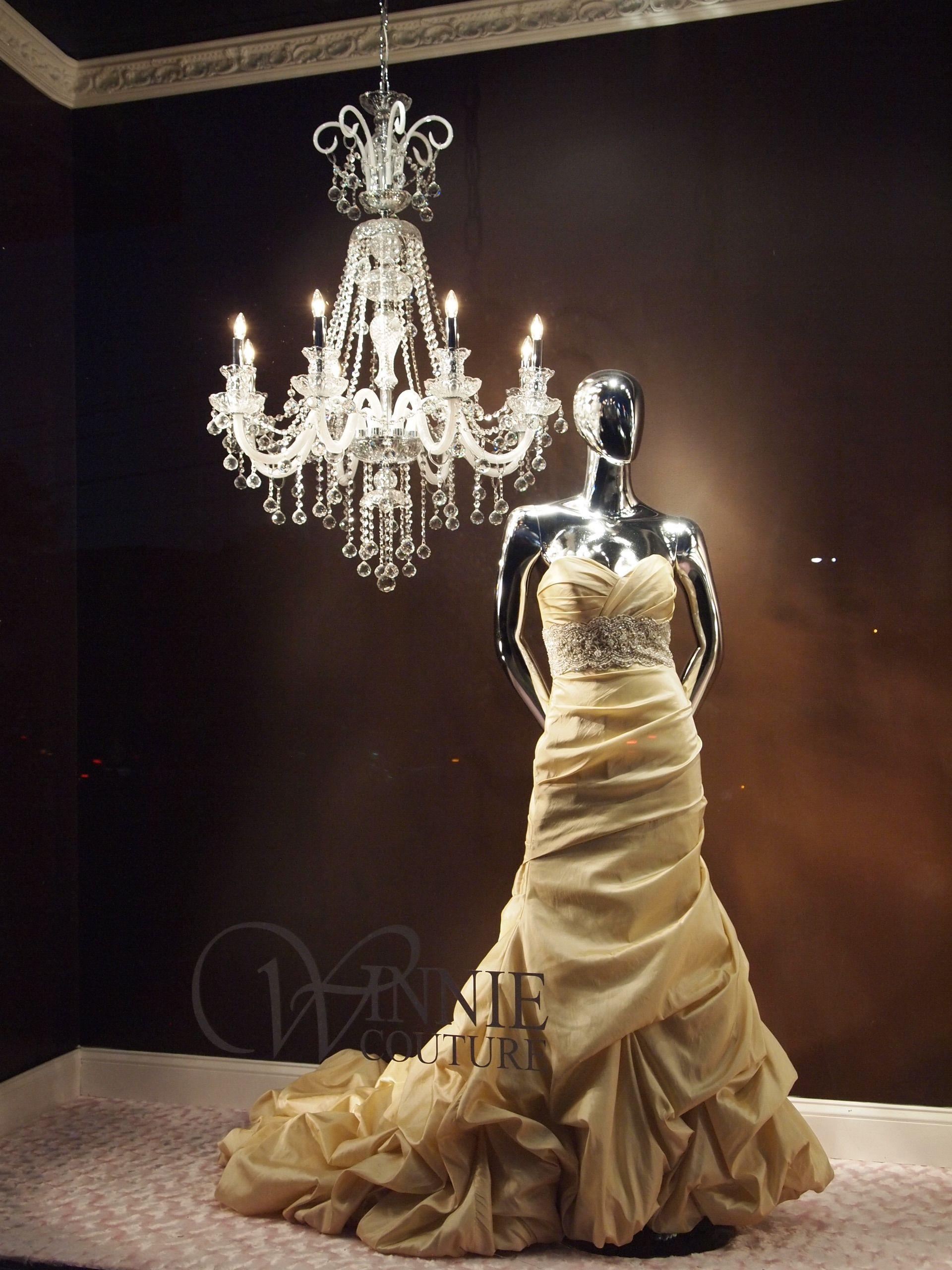 Winnie couture flagship bridal salon atlanta wedding gown display
