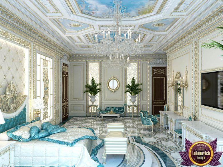 Palatial bedroom design of Katrina Antonovich