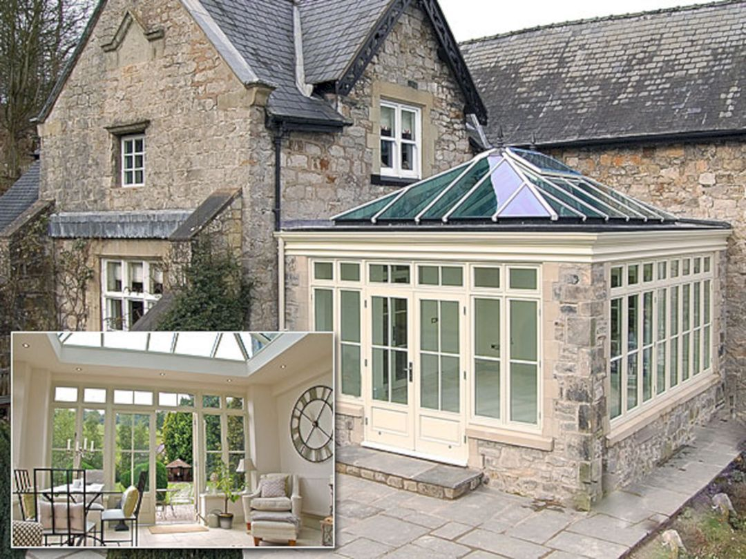 Conservatory Windows With Beautiful Colored Paint 15 Decoredo Garden Room Extensions House Exterior Edwardian House