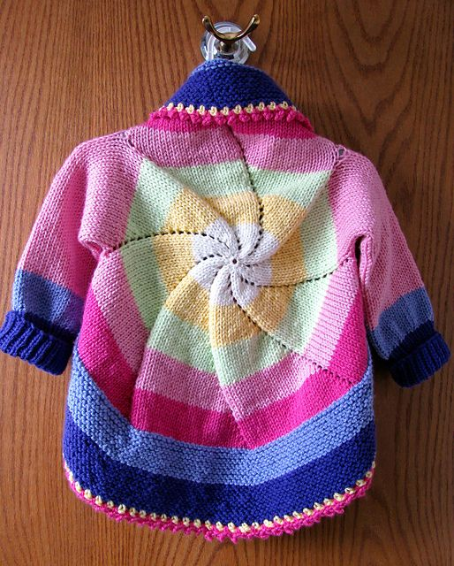Ravelry: Project Gallery for Pinwheel Sweater (Child ...